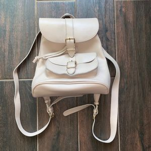 Cute mini small light pink backpack forever 21